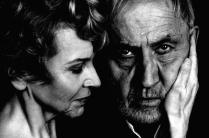 Actors Patricia Enger and Robert Feuker